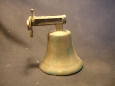 Old Vtg Collectible Brass Wall Ringing Dinner Bell