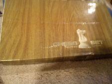 """Set di scacchi con Bordo & scatola da 1960' RE 4"""" High"""
