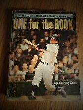 1968 SPORTING NEWS ONE FOR THE BOOK ALL-TIME BASEBALL RECORDS