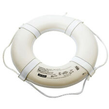 "24"" Coast Guard Approved Ring Buoy - White"