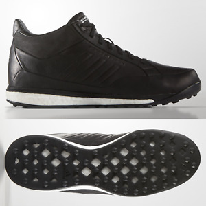 adidas Porsche Design Athletic Sport Mid Mens Trainers Leather Black Boost