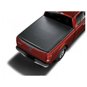OEM NEW 5.5' Soft Roll Up Truck Bed Tonneau Cover Black F-150 VFL3Z-84501A42-EA