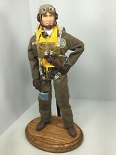 1/6 DRAGON US NAVY CORSAIR FIGHTER PILOT WW2 FULL PARACHUTE+OAK STAND BBI DID RC