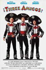 THREE AMIGOS! (1986) ORIGINAL MOVIE POSTER  -  ROLLED