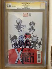 UNCANNY X-MEN #1 CGC Signature Series 9.8 WHITE Pages Young Variant Cover