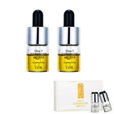 DDK Ultra V Idebenone Ampoule 6ml X 2pcs K-beauty Anti Wrinkles, Skin shining
