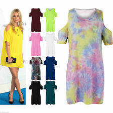 Unbranded Scoop Neck Short Sleeve Casual Dresses for Women