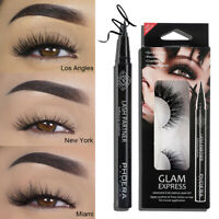 Women Lasting Eye Liner Waterproof Eyeliner Pen Magnetic Lashes Makeup Tools,