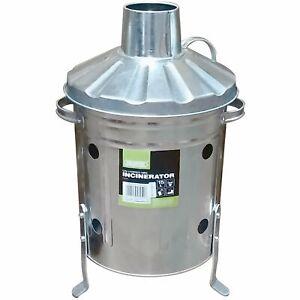 DRAPER Galvanised Mini Incinerator (15L) - 53250