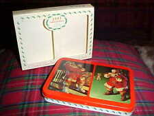 1993 Limited Edition Coca Cola Nostalgia 2-Pack Christmas Playing Card Set