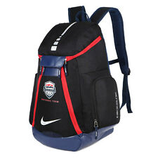 Oxford Waterproof Training Travel Bags Schoolbag Sport Basketball Backpack Black