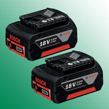 2 Stück Akku Bosch GBA 18 Volt Li-ION 3,0 Ah - GSR GSB GBH GWS  1600Z00037
