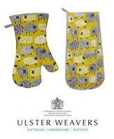 Ulster Weavers Cotton Dotty Sheep Double Oven Glove Mitt or Gauntlet