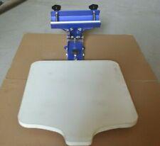 1 Color Screen Printing Machine Shirt Press Table Printer Starter Hobby