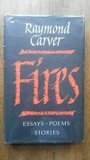 Raymond Carver – Fires (1st/1st UK 1993 hb & dw) essays poems stories