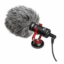 BOYA BY-MM1 Universal Shotgun Microphone for Smartphone & DSLR with Windshield