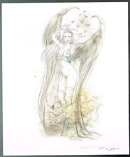 Angel Wings by Luis Royo New Hand Signed Limited Edition Print