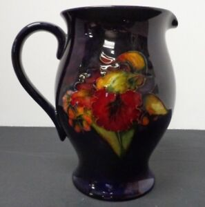 Vintage Moorcroft Flambe Orchid Pitcher