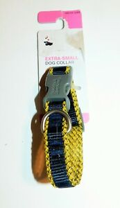 Extra-Small Dog Collar, Plastic Buckle, Two-Tone, Chihuahuas, Maltese's,