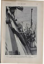 More details for 1915 ww1 print submarine as electric lighting station hms victory