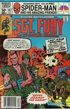 SGT. Fury and His Howling Commandos(Marvel-1963) #167 - Final Issue