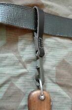 WK2 Kappmesser Gürtelschlaufe,Fallschirmjäger, Skijäger,Gravity Knife belt clip