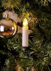 Konstsmide 1009-020 Weihnachtsbaum-Beleuchtung Lichterkette Innen 35 Warm-Wei Z5