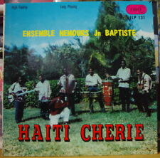 SUPER ENSEMBLE NEMOURS JN-BAPTISTE HAITI CHERIE US PRESS LP IBO RECORDS