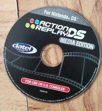 Datel Action Replay DSi Media  Edition. Nintendo DSi. Disc. Rare. Free Shipping