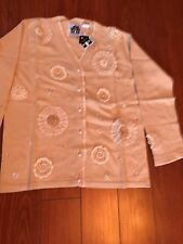 NWT STORYBOOK KNITS Sweater, Size Small, Color Light Beige