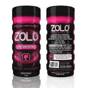 Zolo The Girlfriend Cup Black/Pink Masturbator Adult Sex Toy