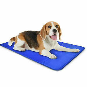 2Pcs 4Packs Pet Self Cooling Gel Mat Cool For Dogs Cats Pad Bed Heat Relief