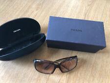 Prada Glasses Frames Square Rectangle Brown Cream Sunglasses Prescription Lenses