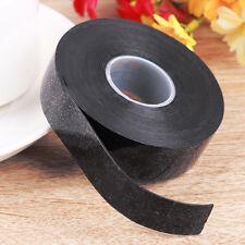 Black 10FT Performance Repair Bonding Rescue Self Fusing Wire Hose Tape Silicone