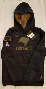 Nike Youth NFL Tampa Bay Buccaneers 2020 Salute to Service Hoodie sz L black