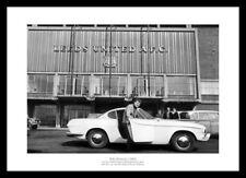 Billy Bremner Outside Elland Road 1965 Leeds United Photo Memorabilia (718)