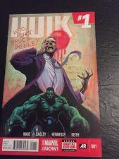Hulk#1(2014) Incredible Condition 9.4  Bagley Art!!