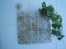 PA DESIGN vaso in pvc a ventosa per 5 fiori - con margherite pressate
