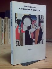 Primo Levi - LA CHIAVE A STELLA - Einaudi 1978 / 1°ed.
