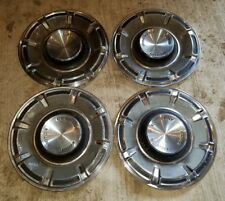 """VINTAGE SET OF 4 FORD HUBCAPS WHEEL COVER 14"""" Ford Motor Company"""
