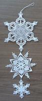 PLAUENER SPITZE ® Fensterbild STERN Winter WEIHNACHTEN Schneekristalle Deko