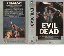 EVIL DEAD  - BRUCE CAMPBELL - VHS - Large case ex Rental - Sam Rami - filmways