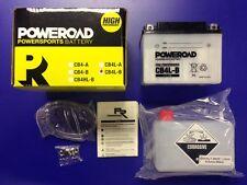 Batería POWEROAD CB4L-B = YB4L-B | 12V | Bateria | Moto | YB4LB | CB4LB | NUEVA!