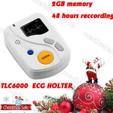 CE 12 canali ECG Holter,48 Ore sistema dinamico ECG Holter,recorder&analisi,Nuov