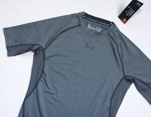 Under Armour Compression Tee T shirt mens Short Sleeve top size M Medium grey