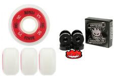 Bones Skateboard Wheels 100's White 52mm Conical V5 Post