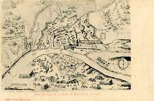 Carte Plan du siège de la Ville de MONTAUBAN en 1621