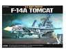 Academy Plastic Model Kit 1/48 F-14A Tomcat US Navy Fighter #12253 with tracking