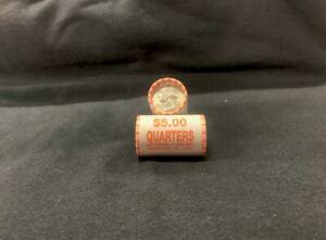 1932-1964 Washington Quarter 90% Silver (Two $5 Rolls of 20 Coins Each)
