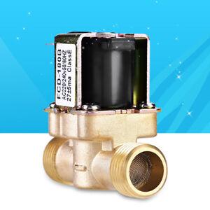 """1/2"""" AC220V normal geschlossen Messing Elektrisch Magnetventil für Wasser Contro"""